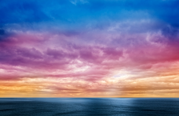 tramonto e suggestione