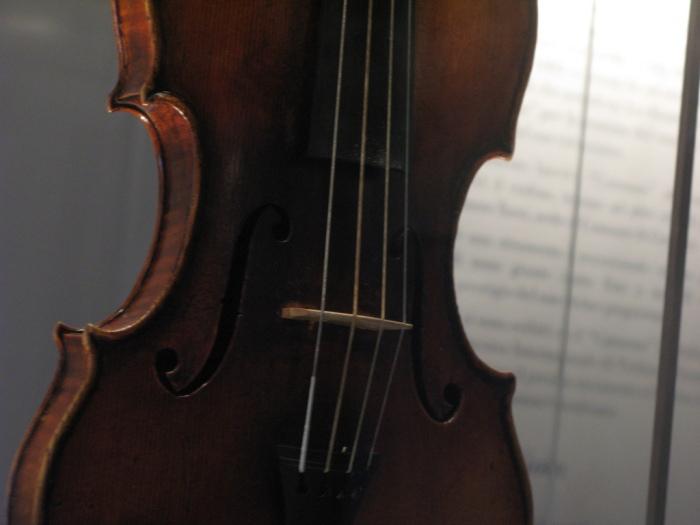 il violino rotto